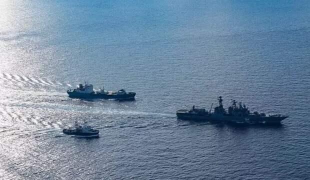 Критический момент: Русские обратили в бегство эсминцы ВМС США