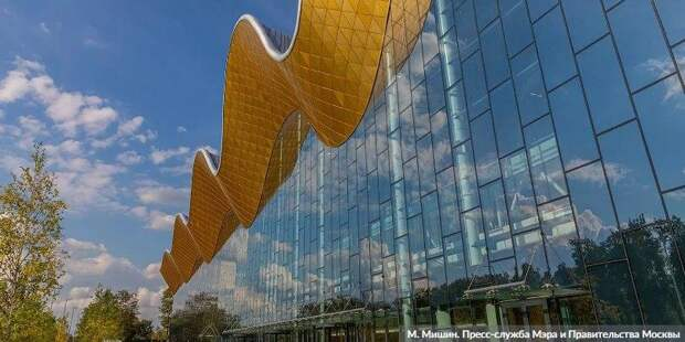 Собянин: Москва строит по-настоящему современные и опережающие время объекты. Фото: Д. Гришкин mos.ru