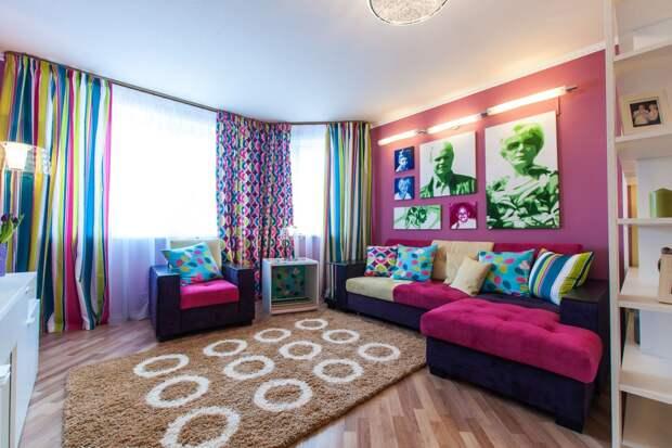 Все о стиле Поп-арт: основные цвета, мебель и материалы