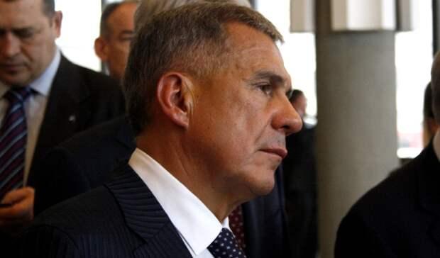 Минниханов возмутился цифрам попогибшим откоронавируса