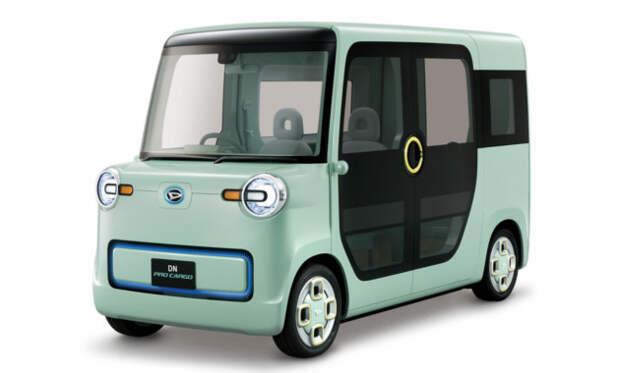 2. Daihatsu подготовила два новых кей-кара Bollinger B1, Rezvani Motors Tank, Tj Cruiser, авто