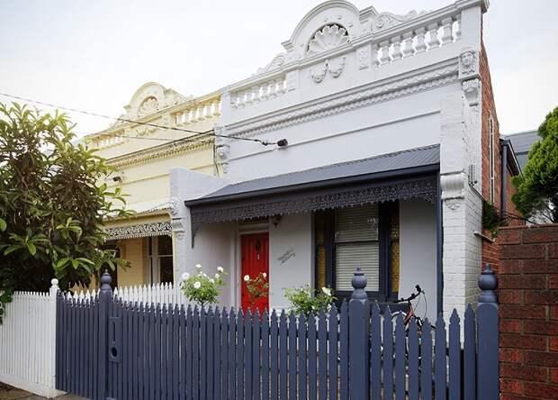 Quarry House - дом в викторианском стиле. Вид спереди.