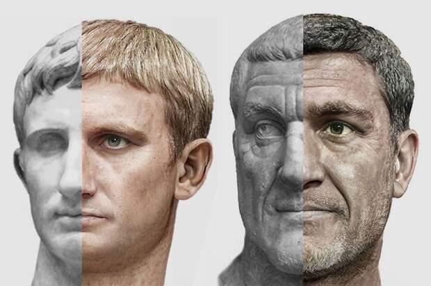 Как дизайнер с помощью нейросети и фотошопа воскресил императоров Древнего Рима