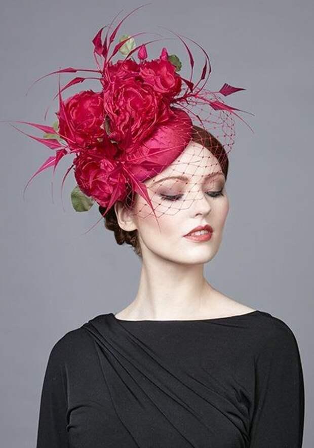 Сама элегантность: сшейте великолепную шляпку с вуалью