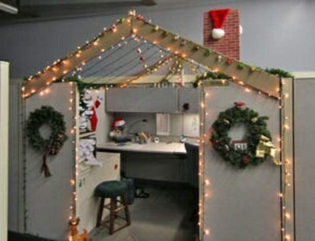 Новый год в офисе (подборка)
