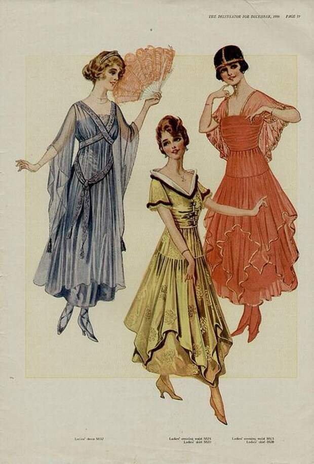 Мода 1916 года