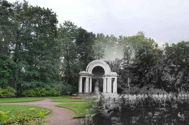 Павловск 1943-2011 Немецкое военное кладбище у Павильона России блокада, ленинград, победа