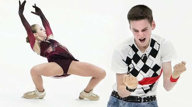 Трусова сделала три квада и стала лучшей фигуристкой в Москве