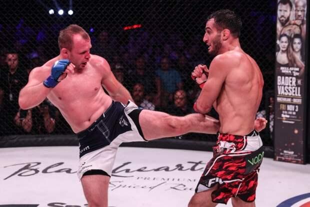 Владелец AMC Fight Nights назвал перебором оценки Шлеменко в бою с Сантосом