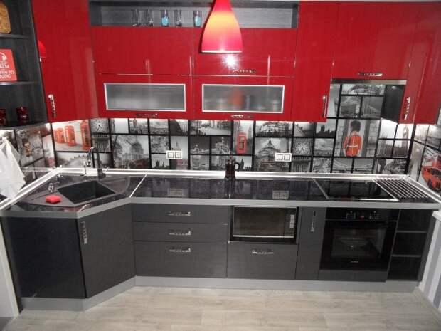 Серая кухня: не скучно, а стильно и изысканно (88 фото)