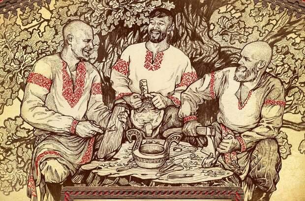 Русский Дух 21 века. Оживающая сказка художника Максима Кулешова, фото № 22