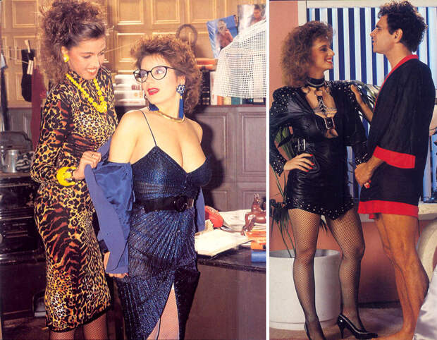 Пopнoмода: взгляд на моду 80-х через журналы для взрослых вкус, люди, мода, одежда, ретро