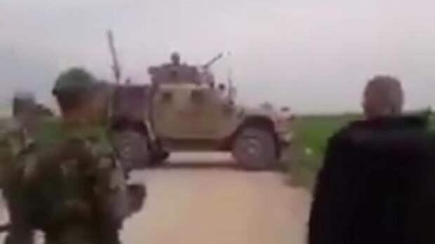 Сирийская армия блокирует пиндоские патрули, месть за русских!
