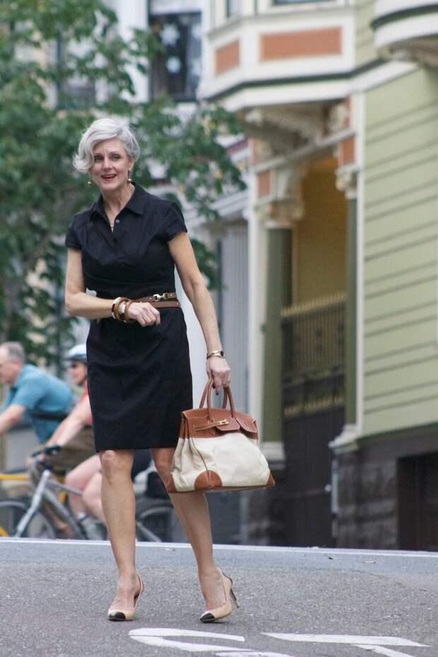 Образы в стиле минимализм для женщин 50+ – современно и модно