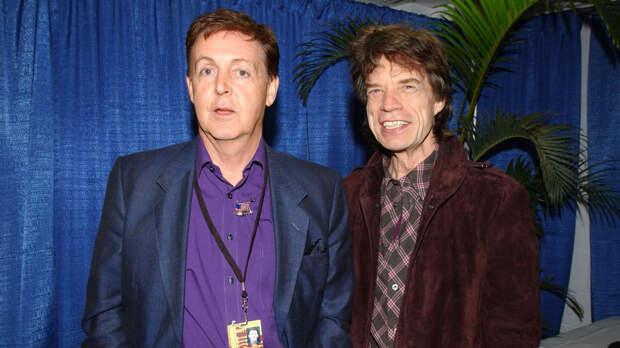 Пол Маккартни обозвал Rolling Stones блюзовой кавер-группой