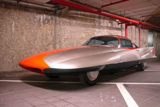 "1955 Chrysler (Ghia) Streamline X ""Gilda"" авто, автодизайн, концепт"