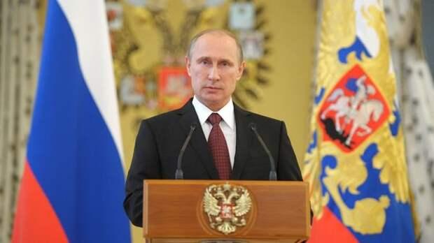 Президент Путин поздравил сограждан сДнем России