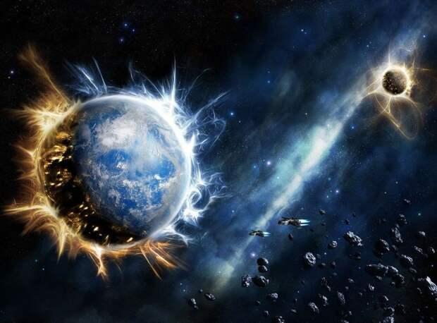 Земля может стать гигантским космическим кораблём