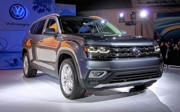 Оператив ЗР: Volkswagen Atlas — круче Туарега?!