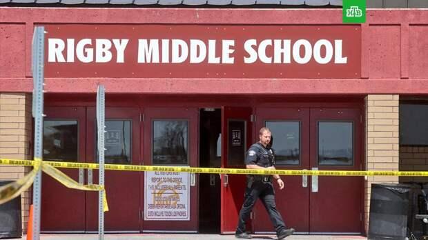 Шестиклассница устроила стрельбу в американской школе
