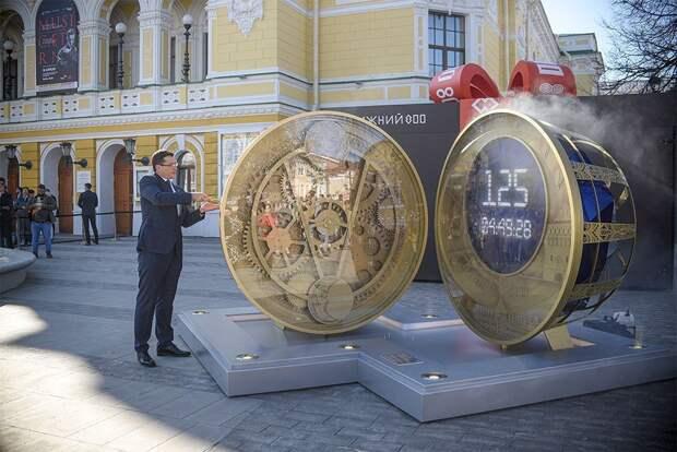 Часы обратного отсчета и гашение марки. Как Нижний Новгород готовится к 800-летию