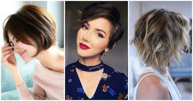 Стильные и удобные причёски на короткие волосы