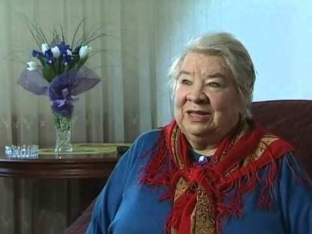 Умерла заслуженная артистка России Кира Крейлис-Петрова