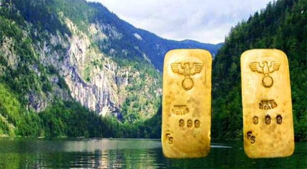 Австрийское денежное озеро. Какие сокровища нацистов спрятаны на дне озера Топлиц-Зее?