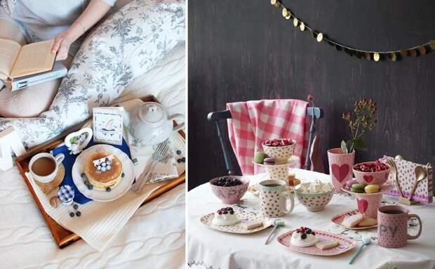Сервировка стола к завтраку: фото-идеи красивой подачи блюд