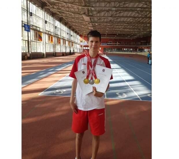 Параспортсмен из Кузьминок стал призером двух крупных первенств по легкой атлетике