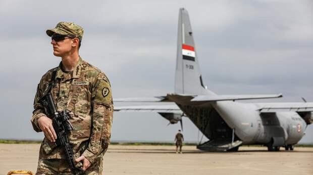 Беспилотник атаковал американскую базу в Ираке
