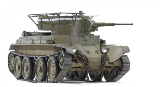 Советский лёгкий танк БТ-7