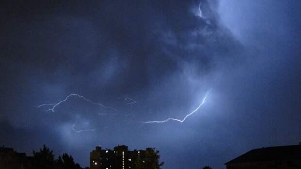 В Удмуртии в среду местами ожидаются дожди и грозы