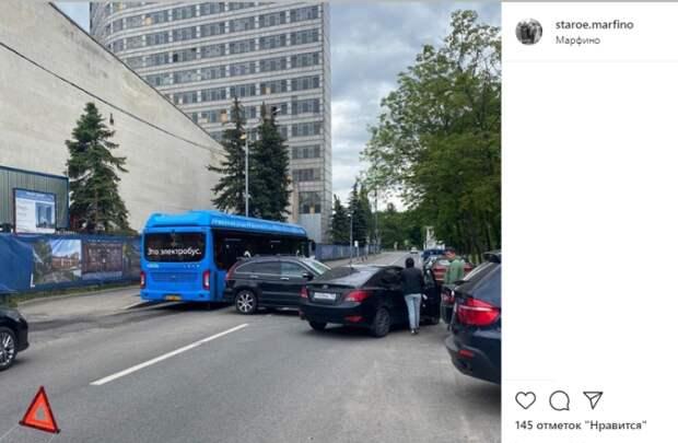 Участники ДТП на Академика Комарова перекрыли всю дорогу