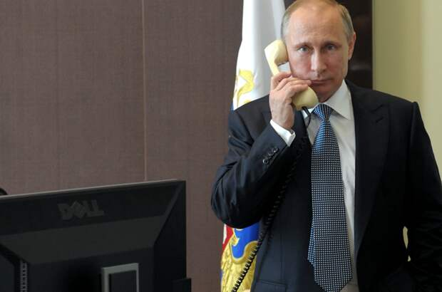 Путин в беседе с Трампом заявил о готовности к партнёрскому диалогу с США