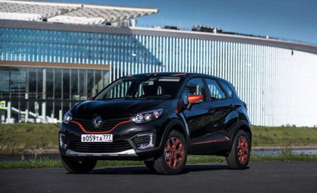 Renault Kaptur CVT: драйв — не в езде