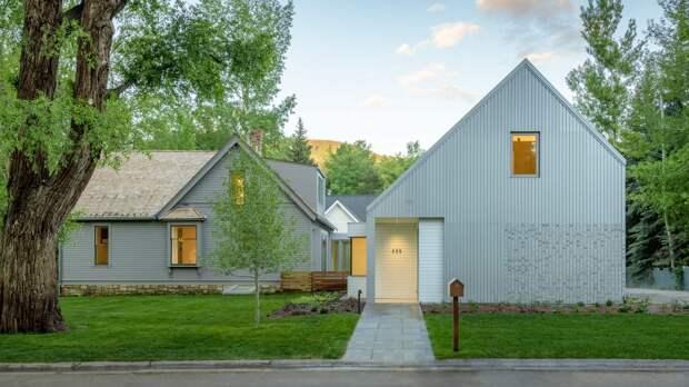 Дополнение к старому дому в Колорадо