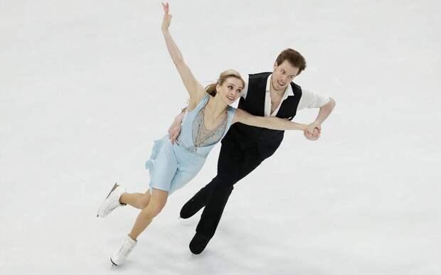 Чемпионат мира по фигурному катанию. Виктория Синицина и Никита Кацалапов выиграли ритм-танец: видео