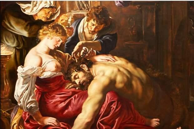 Знаменитый Самсон и Далила действительно Рубенса? Нет, говорит AI