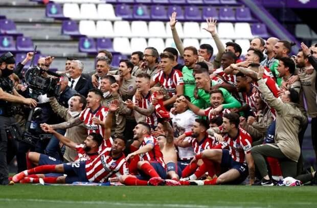 «Атлетико» в 11-й раз выиграл чемпионат Испании