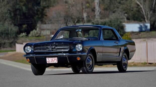 На продажу выставлен один из первых Ford Mustang в истории ford, mustang, аукцион, олдтаймер