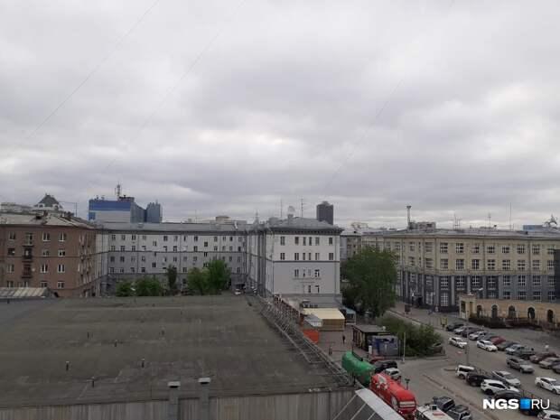 В Новосибирске снова ухудшилось качество воздуха