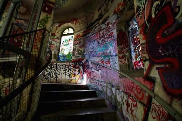 Лестница в праздник.