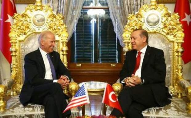 Байден сделает все, чтобы вырвать Эрдогана из «объятий» Путина