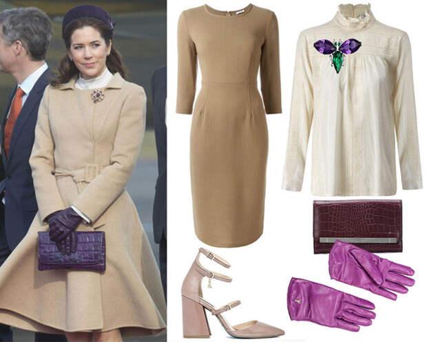 Одеться по-королевски: 5 ярких образов на осень