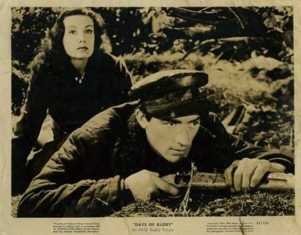 Тамара Туманова в фильме *Дни славы*, 1944 | Фото: liveinternet.ru