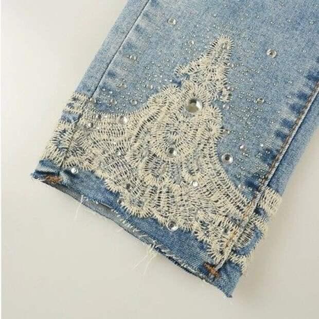 нарядные джинсы