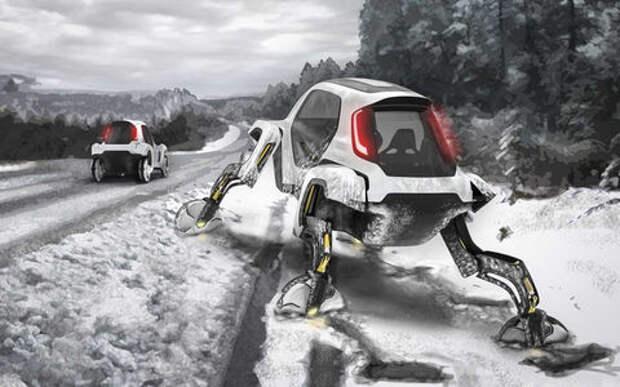 Hyundai представил шагающий автомобиль или «Мудрые боги выдумали ноги»
