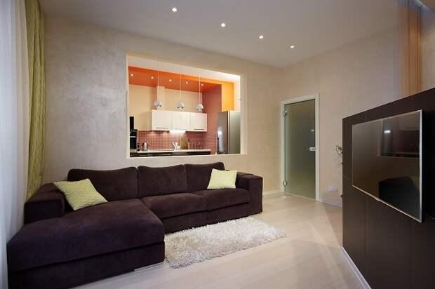Если создать окно из комнаты в комнату, света определенно станет больше – он будет проникать из соседнего помещения. / Фото: design-homes.ru