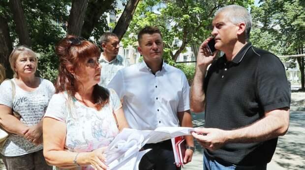 Сергей Аксёнов продолжил инспектирование придомовых территорий крымской столицы